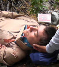Wilderness First Aid simulation